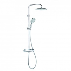 KLUDI FRESHLINE Thermostat Dual Shower-System